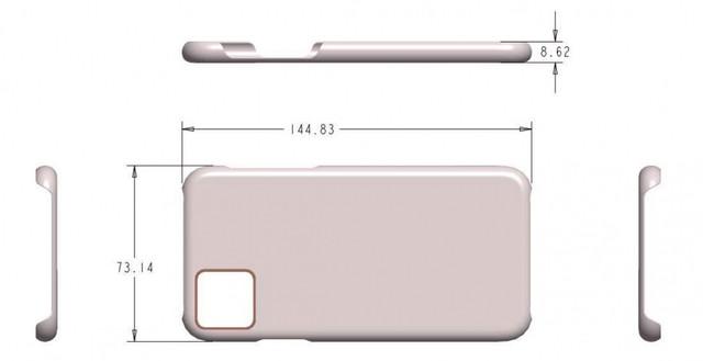 Чехол для iPhone 11 <highlight>Pro подтверждает новый дизайн