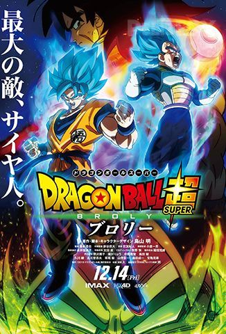 Dragon Ball Super Broly (2019) | CAM | 1080p | Lat | GD | MG
