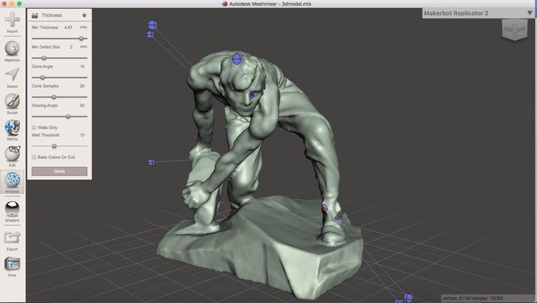 Meshmixer - 2021 Best Free 3D Printing Software
