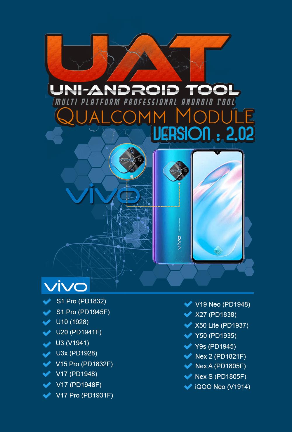 Uni-Android Tool [UAT] Qualcomm Module Ver 2.02 -VIVO Update [05.10.2020]