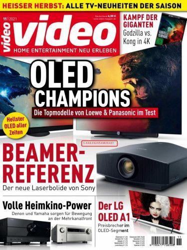 Cover: Video Homevision Magazin No 11 November 2021