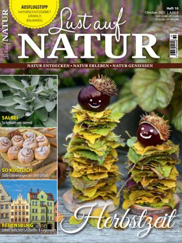 Cover: Lust auf Natur Magazin No 10 Oktober 2021