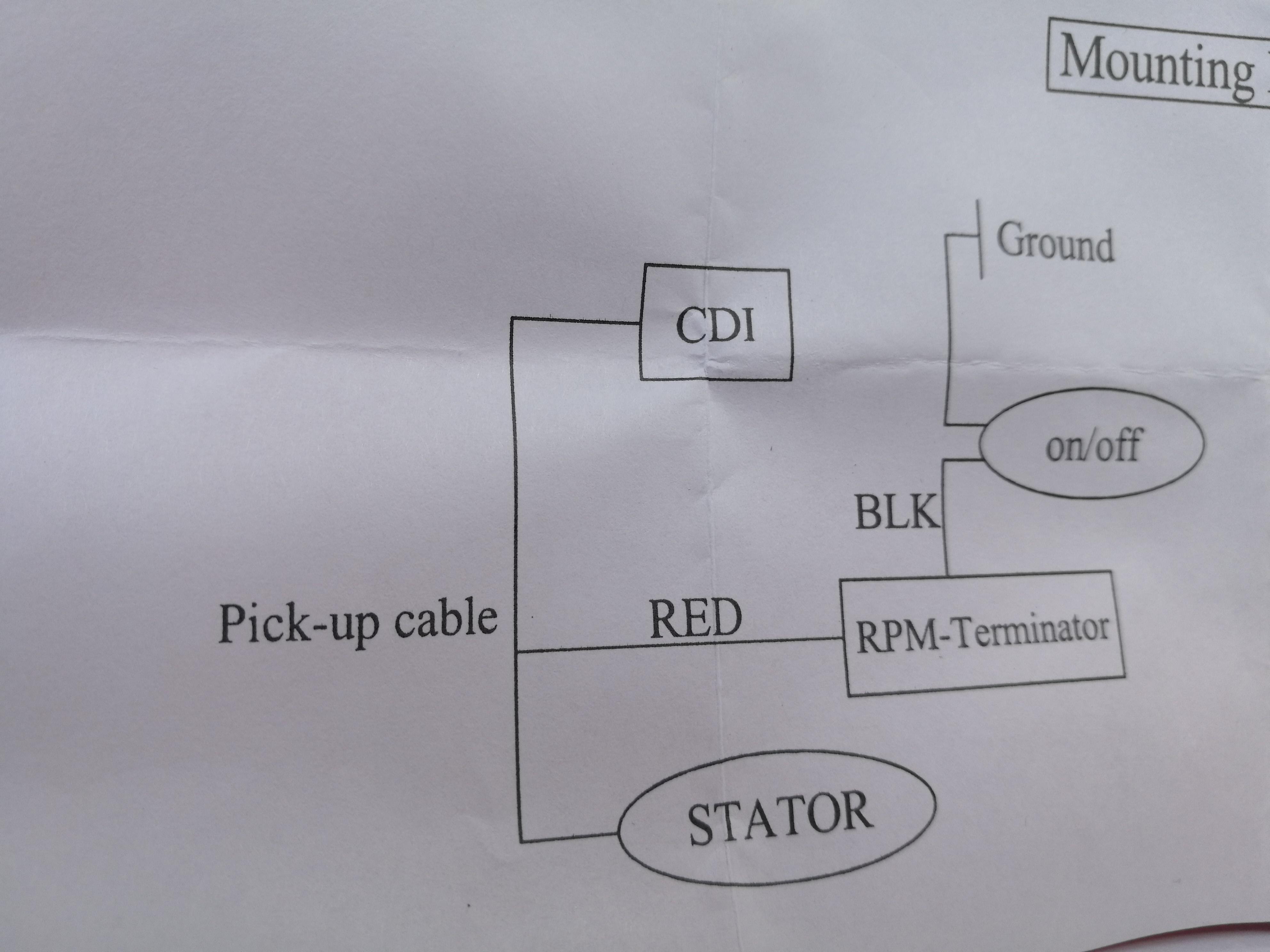 Zdjęcie schematu z instrukcji