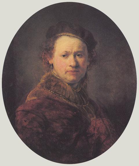 pintura-autoretrato-de-Rembrandt