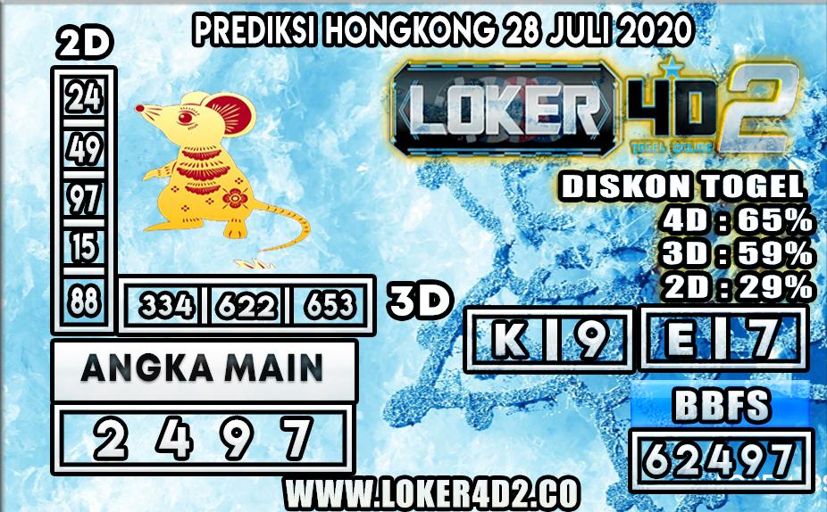 PREDIKSI TOGEL LOKER4D2 HONGKONG  28 JULI 2020