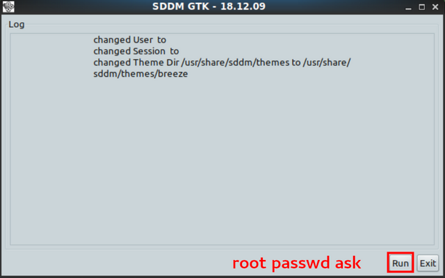 MATE and SDDM - Remove the red message at login section