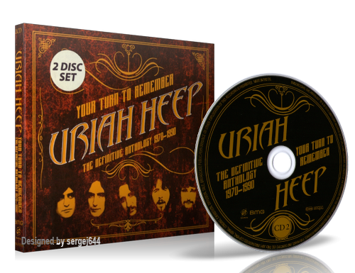(Classic Rock) Uriah Heep - Your Turn To Remember (The Definitive Anthology 1970-1990,2CD) - 2016 [MP3, tracks, 320 kbps]
