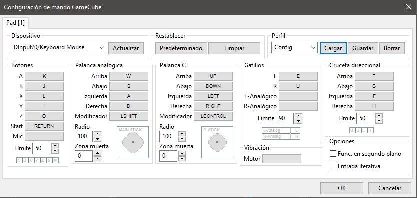 Config-Gamecube