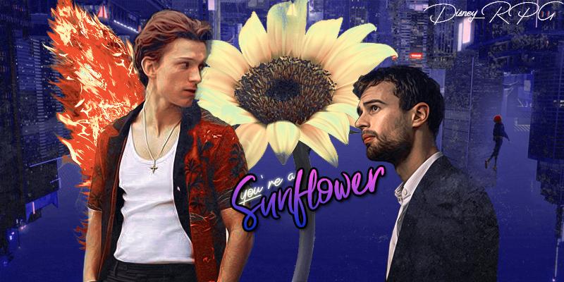 You're a sunflower ~ Lucky-Phoenix-Sunflower