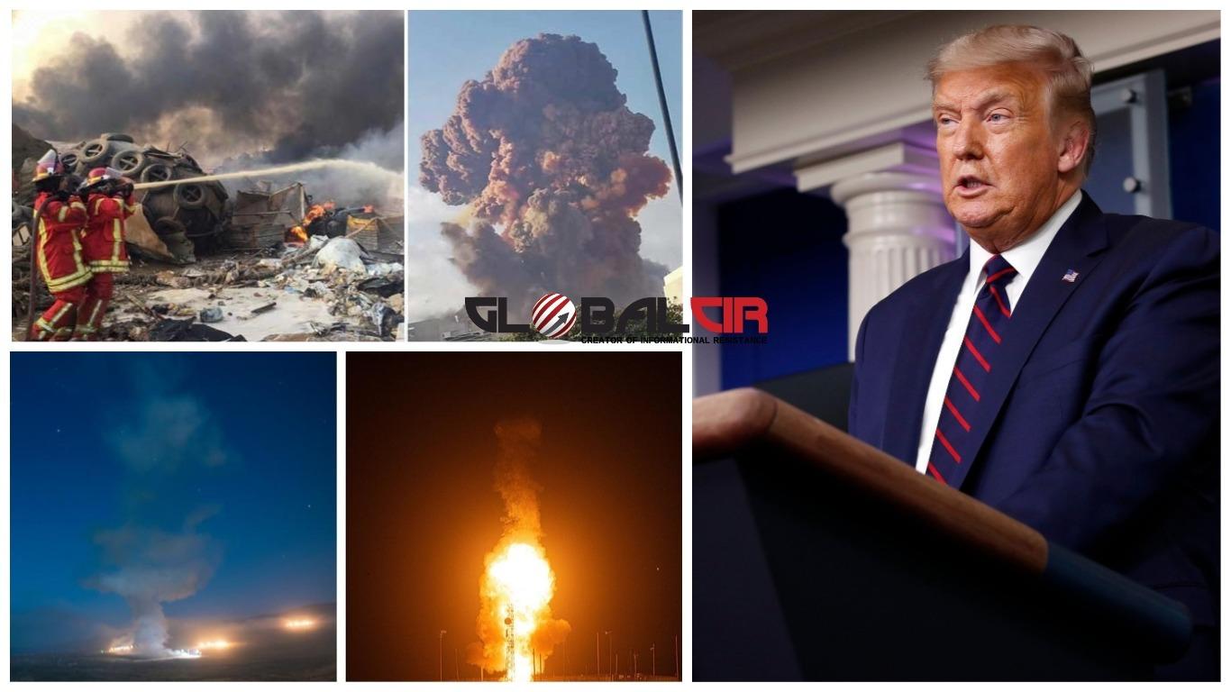 U SAD-u TESTIRANA NUKLEARNA INTERKONTINENTALNA RAKETA! Američki predsjednik ponudio objašnjenje i za dešavanja u Bejrutu: 'Naši generali su mi rekli da je to bomba, u pitanju je bio napad'