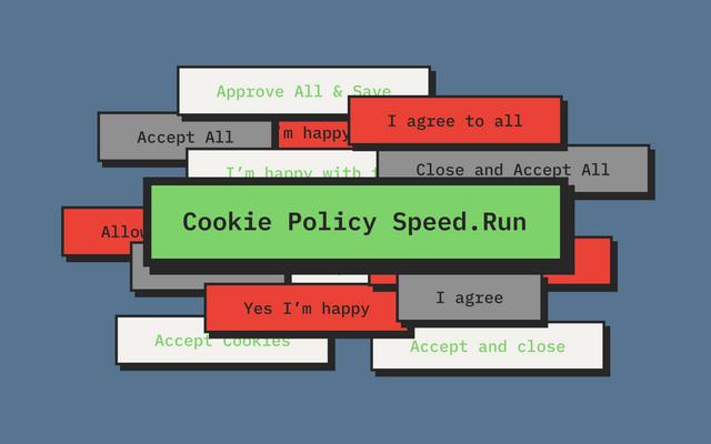 Cookie Consent Speed.Run