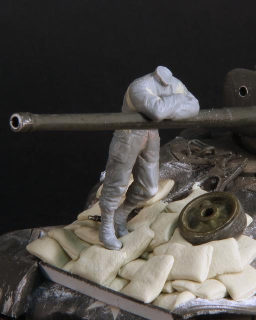 Corvée d'eau (WWII tankiste US, Dragon 1/35 WIP) IMG-3404
