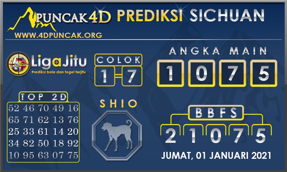 PREDIKSI TOGEL SICHUAN PUNCAK4D 01 JANUARI 2021