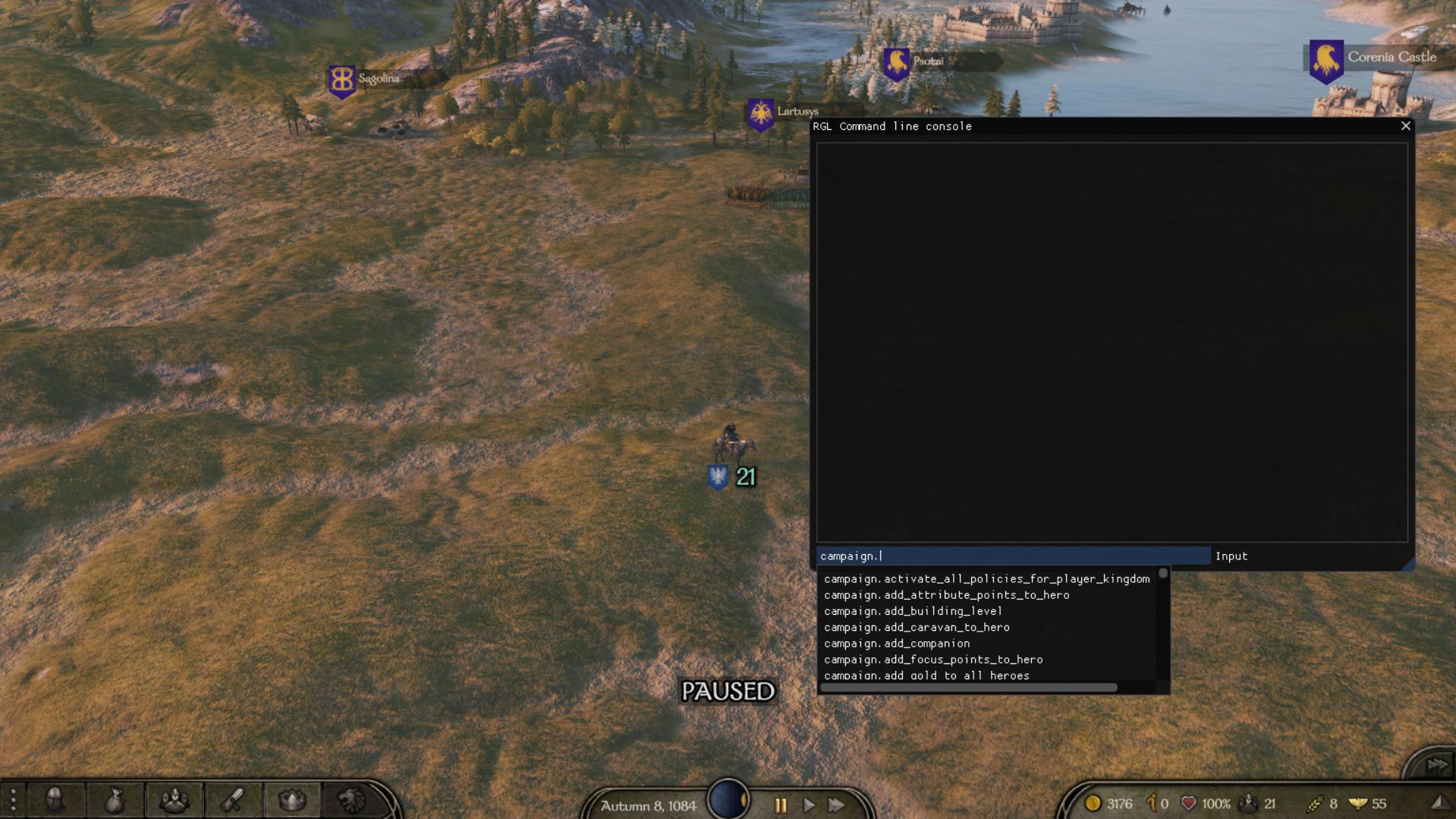 Developer Console | Консоль разработчика