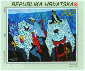 1993. year EUROPA-MODERNA-HRVATSKA-UMJETNOST-IVO-DUL-I