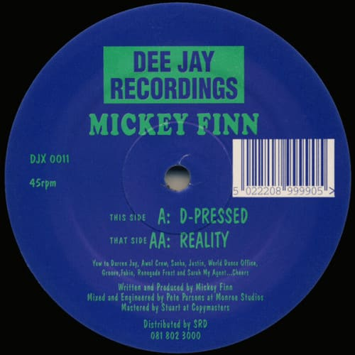 Download Mickey Finn - D-Pressed / Reality mp3