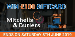 Win £100 Mitchell and Butlers Gift Card