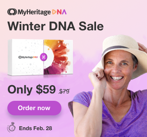 MyHeritage DNA Winter Sale