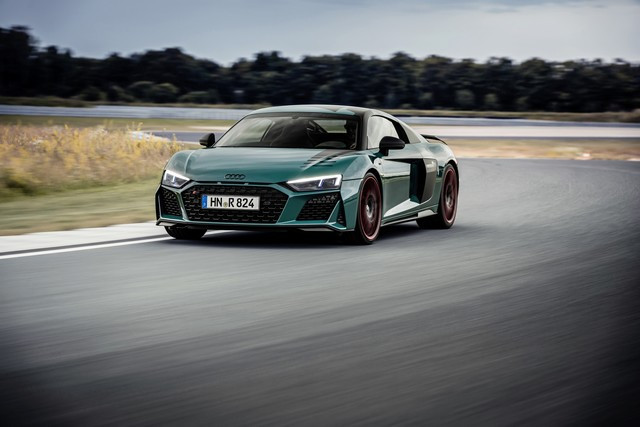 Audi R8 green hell : un hommage au palmarès de l'Audi R8 LMS A205735-medium