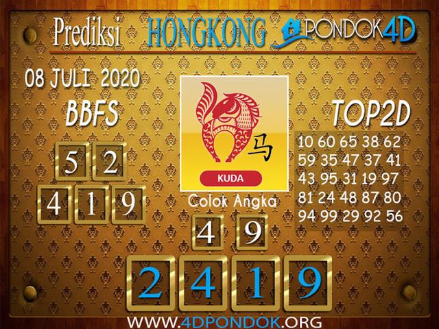 Prediksi Togel HONGKONG PONDOK4D 08 JULI 2020