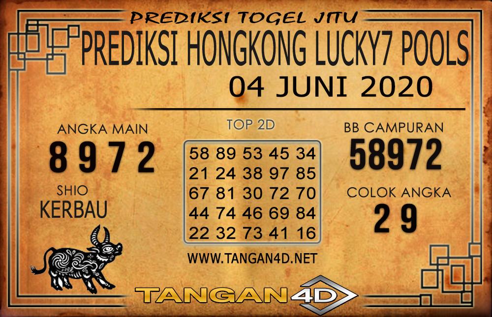 PREDIKSI TOGEL HONGKONG LUCKY 7 TANGAN4D 04 JUNI 2020