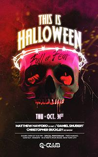 Halloween Club Flyer