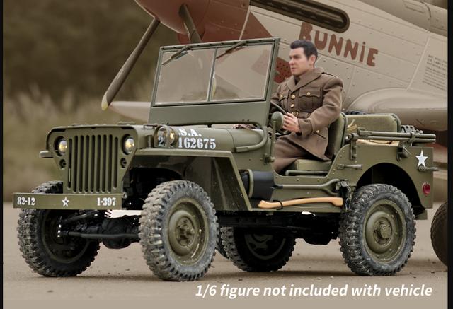 Roc Hobby Jeep Willys MB 1941 4x4 ARTR 1/6  Screenshot