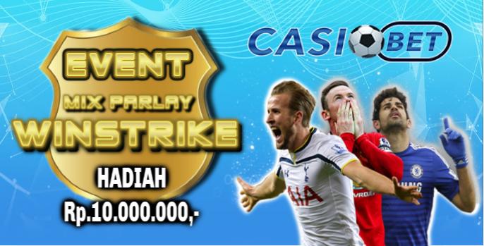 Event Win Streak Parlay Berhadiah 10juta