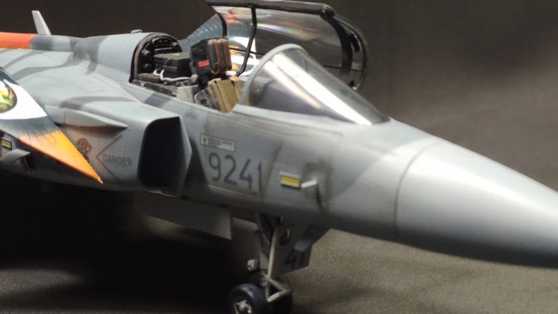 """MT: Jas-39C Gripen """"Wild Tiger"""" NTM 2017 Kitty Hawk 1/48 IMG-20200209-194758"""