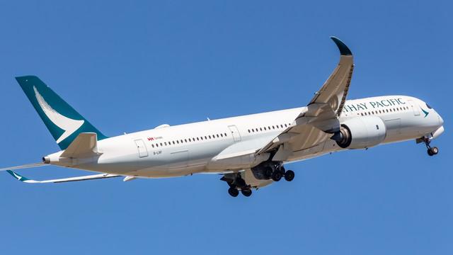 Cathy Pacific A350 800 B LRF 04 FEB2018