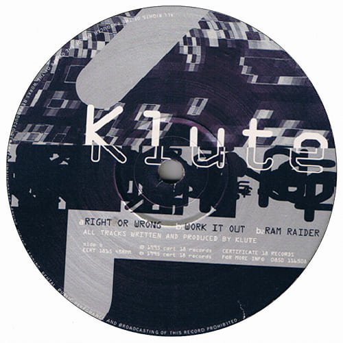 Download Klute - Right Or Wrong / Work It Out / Ram Raider mp3