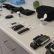 Glucose meter test at lab 01