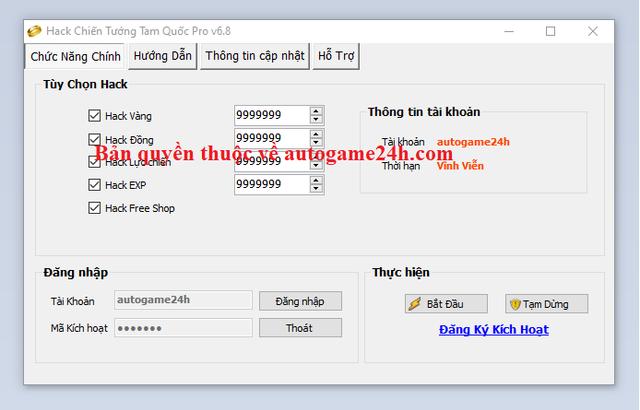 Hack Chiến Tướng Tam Quốc miễn phí Chientuongtamquocsadfwqa