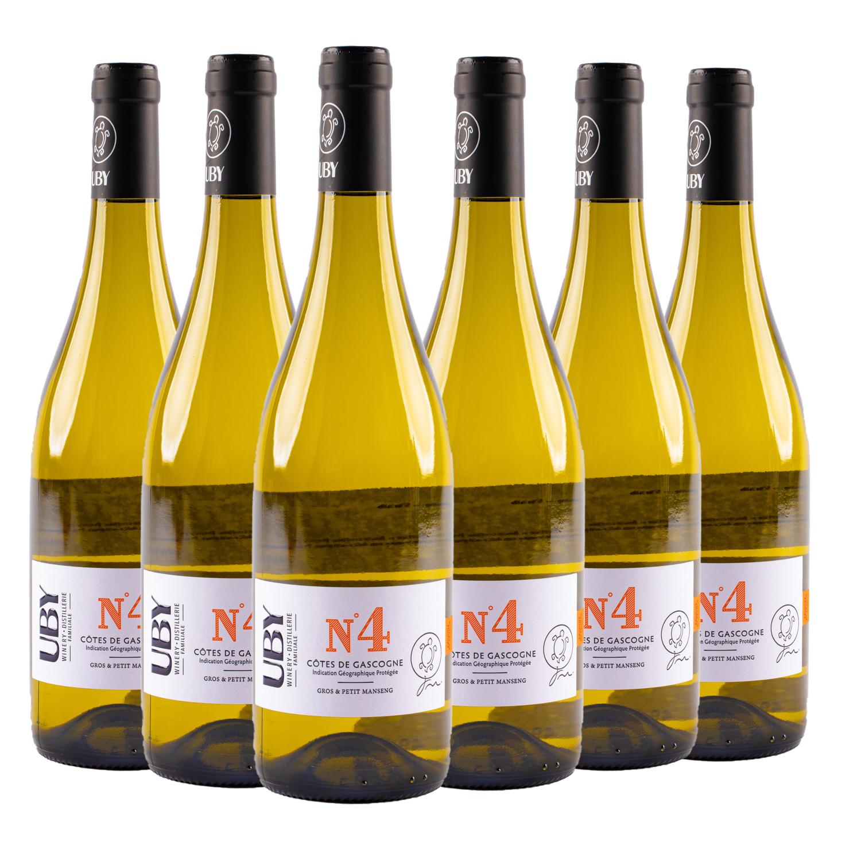 6 sticle x UBY No.4, Cotes de Gascogne 2019 750ml
