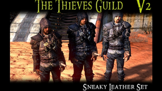 The Thieves Guild - A Skyrim Armour Mod/ Броня гильдии воров из Скайрима