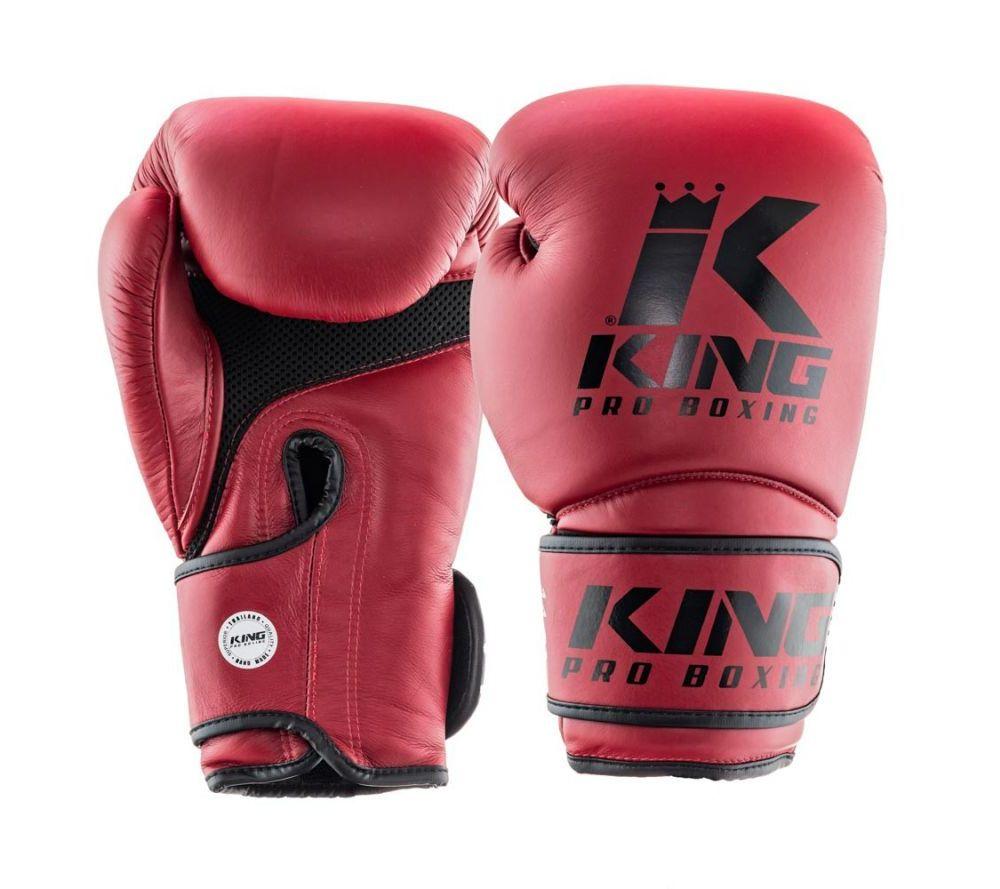 Боксерские перчатки King Pro Boxing Бордовые ( Таиланд )