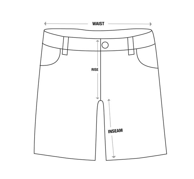 Shorts-Size-Chart-Vector