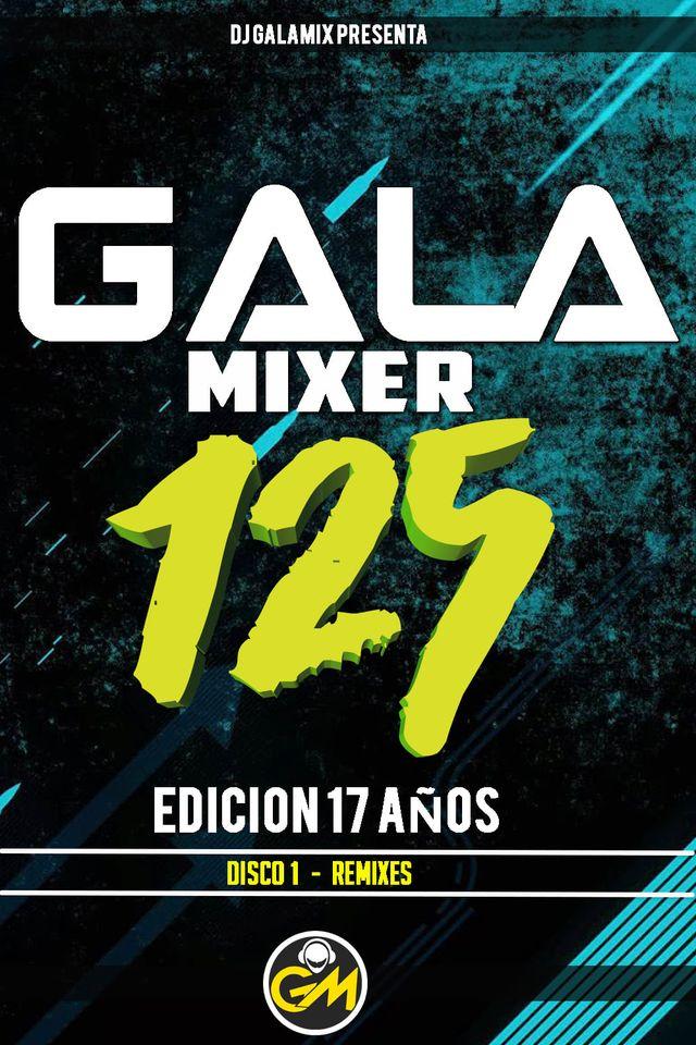 Gala Mixer 125 - DISCO 1 - Music Selected.