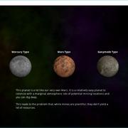 Planet Select Screen
