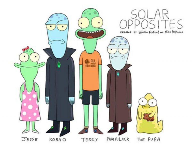 Solar Opposites. Imagen: Hulu