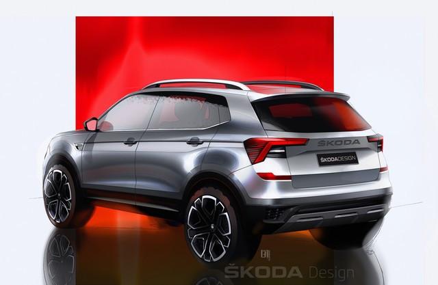 Nouvelle ŠKODA KUSHAQ : premiers dessins du SUV dédié au marché indien 210218skoda-kushaq-design-sketches-2
