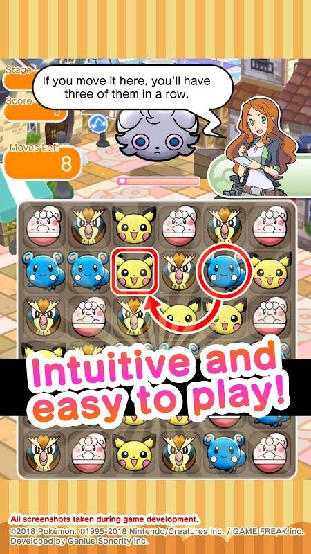 Pokémon Shuffle Mobile (MOD, High Damage)