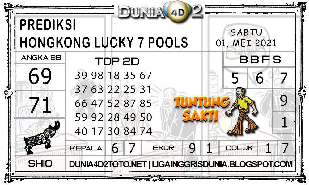 Prediksi Togel HONGKONG LUCKY7 DUNIA4D2 01 MEI 2021