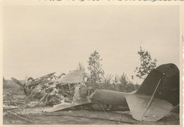 orig-WW2-Foto-Flugzeug-Russland-Ostfront-Jakowlew-Jak