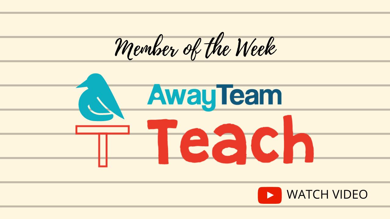 Member of the week AwayTeam Teach Online Tutor