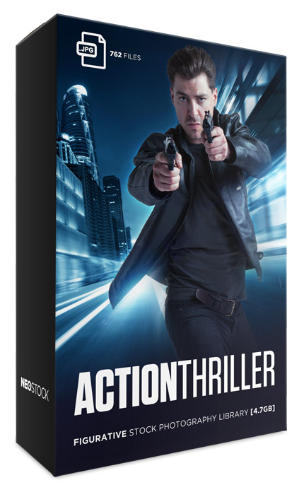 action thriller photo stock library bundle neostock