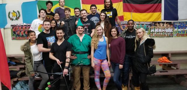 Team Building through Archery Tag in Los Angeles