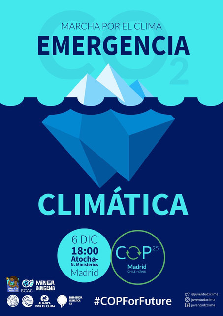 madrid-climate-strike-cop-for-future