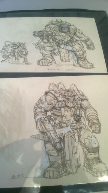 Galerie Daniel Maghen [originaux Warhammer Battle & 40K] 38