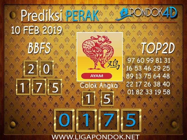 Prediksi Togel PERAK PONDOK4D 10 FEBRUARI 2019